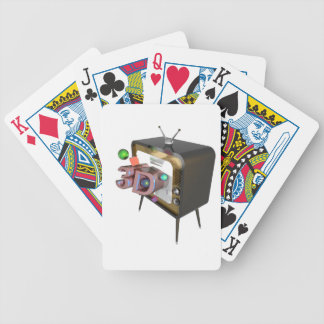 3D tv Bicycle Playing Cards
