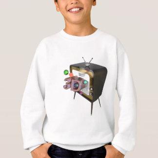 3D tv Sweatshirt