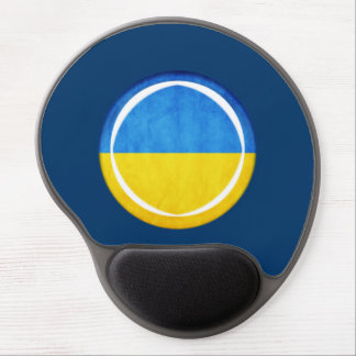 3D Ukraine flag Gel Mousepad