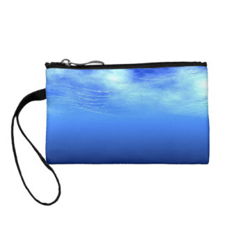 3d Under the waves of the ocean Change Purse