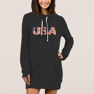 3D USA print on Hoodie Skirt