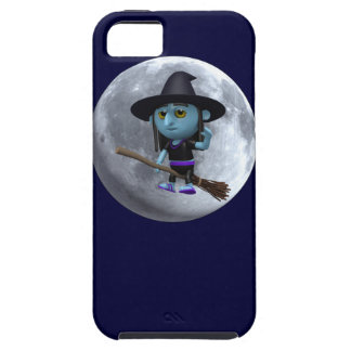 3d Witches moon Case For The iPhone 5