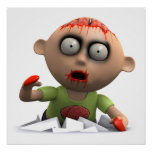 3d Zombie Surprise Attack! Posters