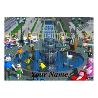 3DCG fantasy Business Cards