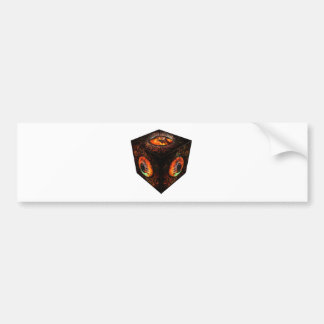 3dCubeOnly.gif Bumper Sticker