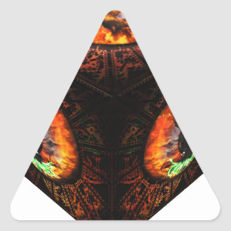 3dCubeOnly.gif Triangle Sticker