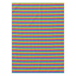 3drainbowsteps tablecloth