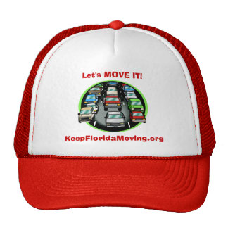 3lanes of Traffic - Let's MOVE IT! Trucker Hat