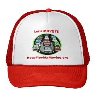 3lanes of Traffic - Let's MOVE IT! Trucker Hat