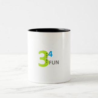 3noobs4fun youtube Two-Tone coffee mug