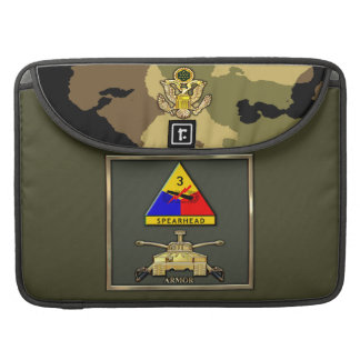 3rd Armor Division Sleeve For MacBooks