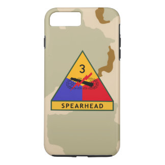 "3rd Armored Division ""Spearhead"" Desert Camo iPhone 8 Plus/7 Plus Case"
