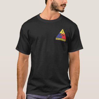 3rd Armoured Division (Armour) T-shirts