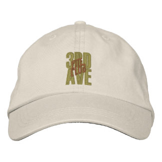 3RD AVE Kite Club Embroidered Adjustable Hat