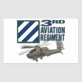 3rd Aviation Regiment Apache Sticker