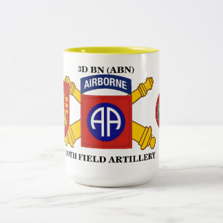 3RD BATTALION 319TH FIELD ARTILLERY MUG