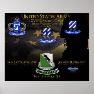 3rd Battalion, 69th Armor Regiment (3–69 AR) Poster