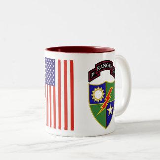 3rd Battalion - 75th Ranger Regiment Two-Tone Mug