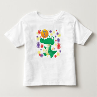 3rd Birthday Alligator Toddler T-shirt