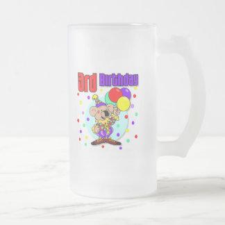 3rd Birthday Australia Birthday 16 Oz Frosted Glass Beer Mug