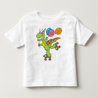 3rd Birthday Dinosaur Toddler T-shirt