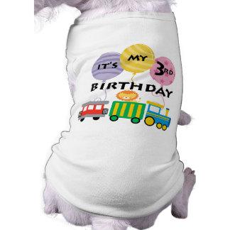 3rd Birthday Train Birthday Shirt