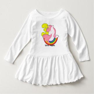 3rd Birthday Unicorn Rainbow Dress