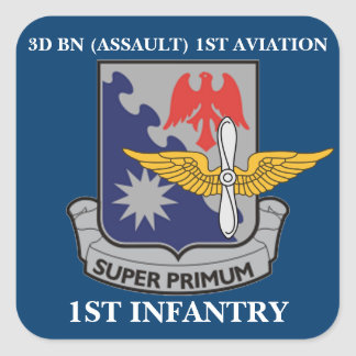 3RD BN 1ST AVIATION 1ST INFANTRY STICKERS