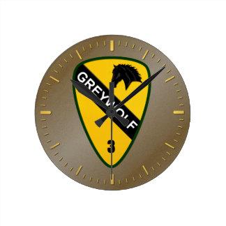 3rd Brigade Combat Team, 1st Cavalry Division Round Clock