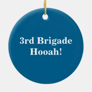 3rd Brigade Seal Ornament
