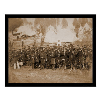 3rd Connecticut Infantry at Camp Douglass 1861 Poster