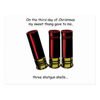 3rd Day Redneck Christmas Postcard