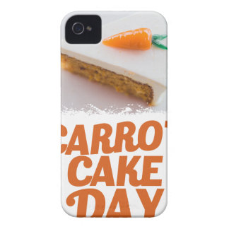 3rd February - Carrot Cake Day - Appreciation Day Case-Mate iPhone 4 Cases