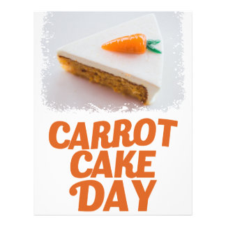 3rd February - Carrot Cake Day - Appreciation Day Letterhead