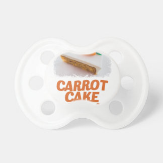 3rd February - Carrot Cake Day - Appreciation Day Pacifier