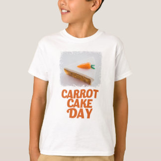 3rd February - Carrot Cake Day - Appreciation Day T-Shirt