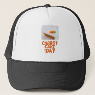 3rd February - Carrot Cake Day - Appreciation Day Trucker Hat