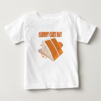 3rd February - Carrot Cake Day Baby T-Shirt