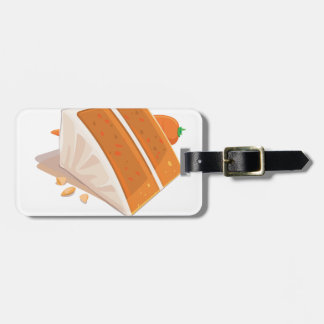 3rd February - Carrot Cake Day Luggage Tag