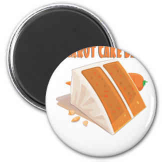 3rd February - Carrot Cake Day Magnet