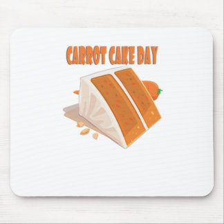 3rd February - Carrot Cake Day Mouse Pad