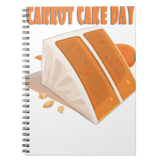 3rd February - Carrot Cake Day Notebook