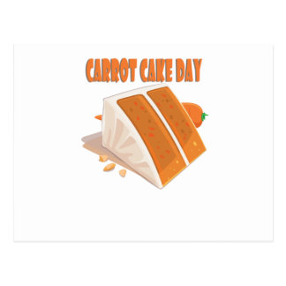 3rd February - Carrot Cake Day Postcard