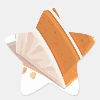 3rd February - Carrot Cake Day Star Sticker