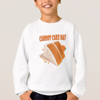 3rd February - Carrot Cake Day Sweatshirt