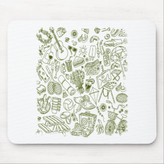 3rd February - Doodle Day - Appreciation Day Mouse Pad