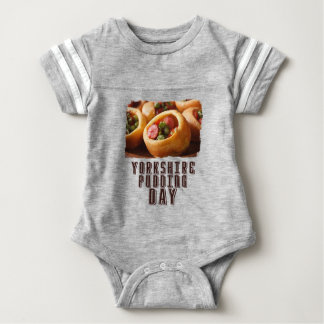 3rd February - Yorkshire Pudding Day Baby Bodysuit