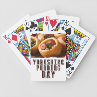3rd February - Yorkshire Pudding Day Bicycle Playing Cards