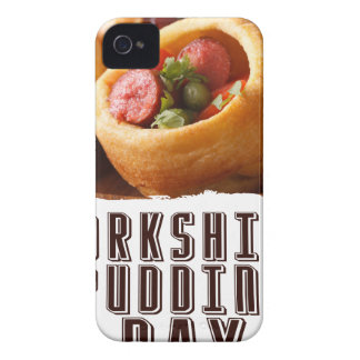 3rd February - Yorkshire Pudding Day Case-Mate iPhone 4 Cases