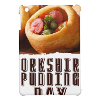3rd February - Yorkshire Pudding Day iPad Mini Cases